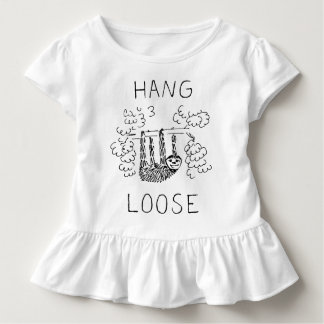 こつは怠惰を緩めます トドラーTシャツ