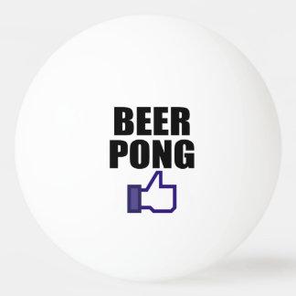 このようなビールPONG、 卓球ボール