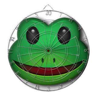 このカエルのデザインを点検するホツプ ダーツボード