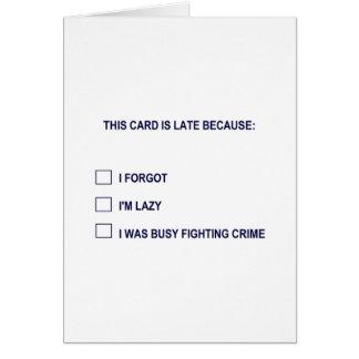 このカードは遅いですので… カード