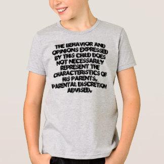 このキーによって表現される行動および意見… Tシャツ