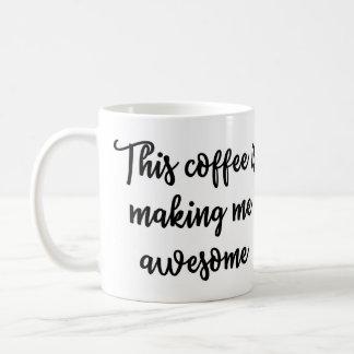 このコーヒーは私に素晴らしいマグをしています コーヒーマグカップ