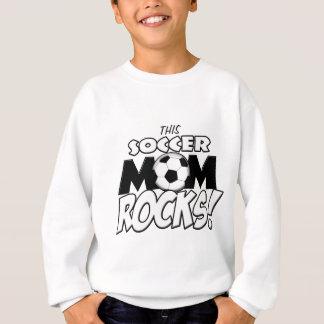 このサッカーのお母さんRocks.png スウェットシャツ