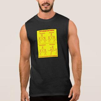 このシンプルを作るために割り当てます 袖なしシャツ