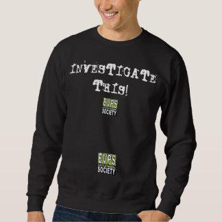 このスエットシャツを調査して下さい スウェットシャツ