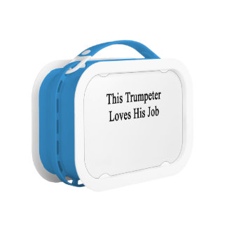 このトランペット奏者は彼の仕事を愛します ランチボックス