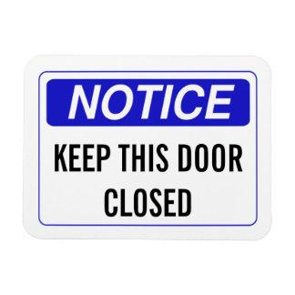 このドアを閉めておいて下さい マグネット