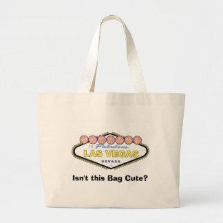 このバッグはかわいくないですか。 ラスベガスのトート ラージトートバッグ