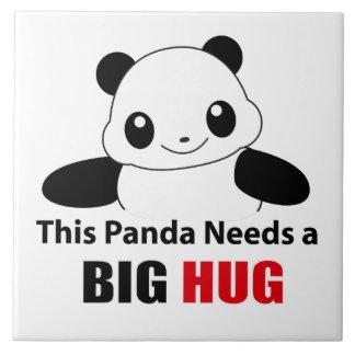 このパンダの必要性大きい抱擁 タイル