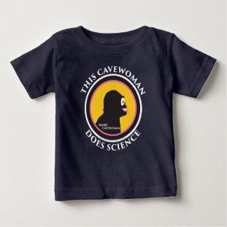このベビーのラップのTシャツは頭が切れるなキャットウーマン科学をします ベビーTシャツ