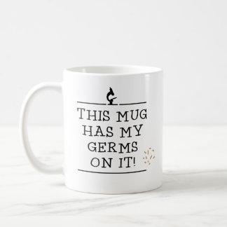 このマグはそれの私の細菌を備えています コーヒーマグカップ