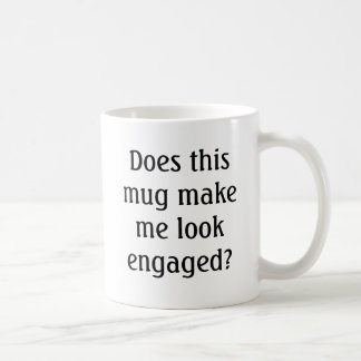 このマグは私を婚約したに見させますか。 コーヒーマグカップ