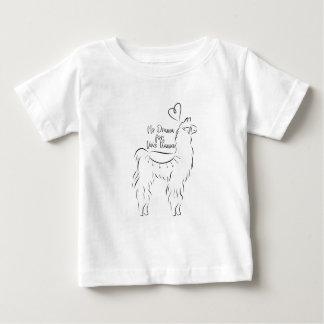 このラマのための戯曲無し ベビーTシャツ