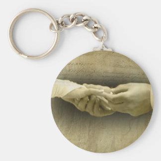 このリングを使って、愛を結婚するロマンチックなヴィンテージ キーホルダー