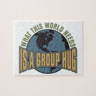 この世界が必要とするものはグループの抱擁です ジグソーパズル