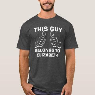 この人は一流のカスタムを書き入れるために属します Tシャツ