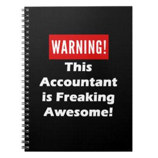 この会計士は素晴らしいひどく神経質になることです! ノートブック