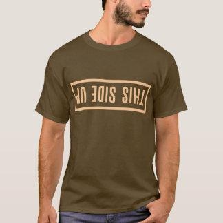 この側面の上りのクールなワイシャツ Tシャツ