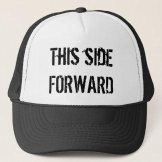 この側面前方訓練の帽子 キャップ