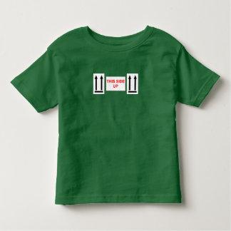 この側面 トドラーTシャツ