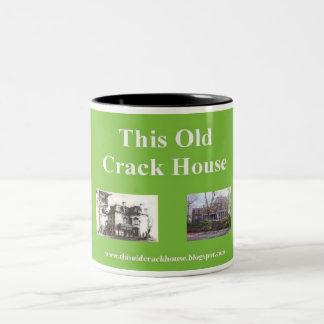 この古い一流の家のマグ ツートーンマグカップ