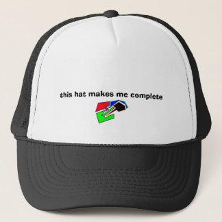 この帽子は私を完全にさせます キャップ