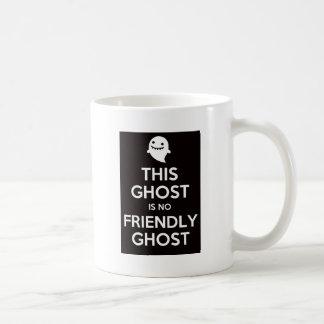 この幽霊はフレンドリーな幽霊ではないです コーヒーマグカップ