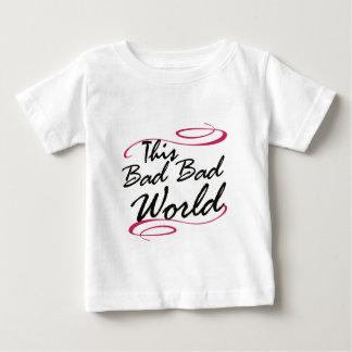 この悪く悪い世界 ベビーTシャツ