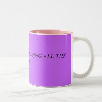 この日はずっとすばらしいです ツートーンマグカップ