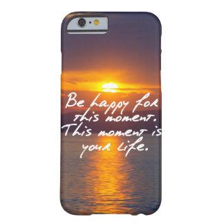 この時の間幸せがあって下さい BARELY THERE iPhone 6 ケース