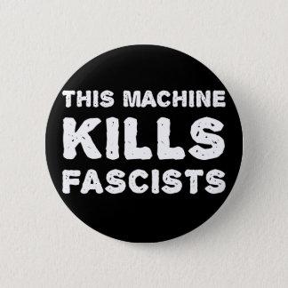 この機械はファシストを殺します 5.7CM 丸型バッジ
