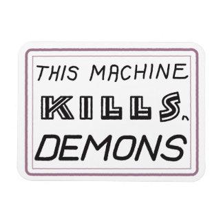 この機械は鬼の磁石を殺します マグネット