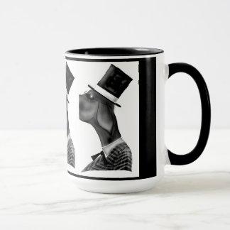 この氏優雅な足のマグ マグカップ