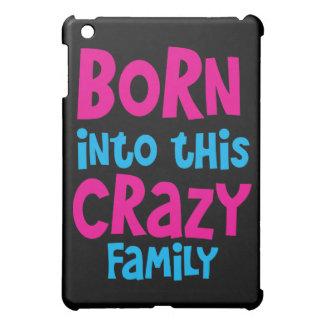 この熱狂するな家族に生まれて下さい! iPad MINI カバー