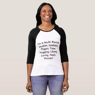 この素晴らしいワイシャツを持つ嫌悪症を離れて言って下さい! Tシャツ