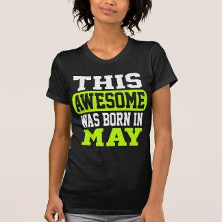 この素晴らしい5月に生まれました Tシャツ