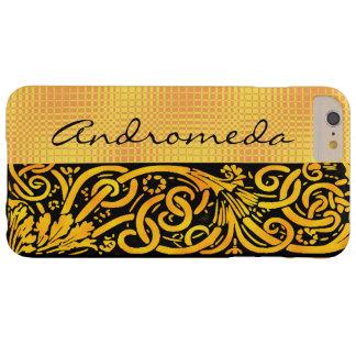 この金黄色い華麗さをカスタマイズ BARELY THERE iPhone 6 PLUS ケース