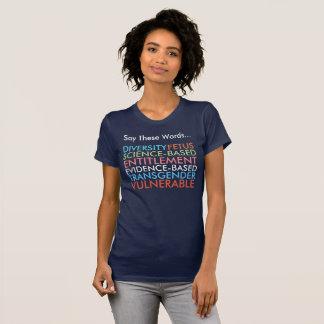 この7ワードを言って下さい Tシャツ