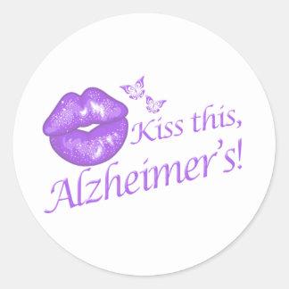 このAlzheimerに接吻して下さい! ラウンドシール