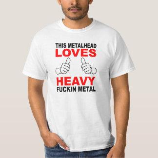 このMetalheadの価値ワイシャツ Tシャツ