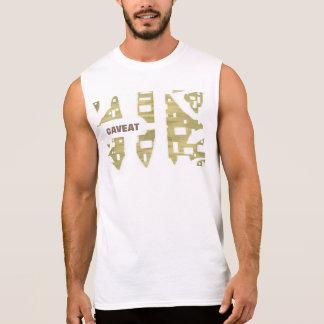 このTシャツで大胆に見ます 袖なしシャツ