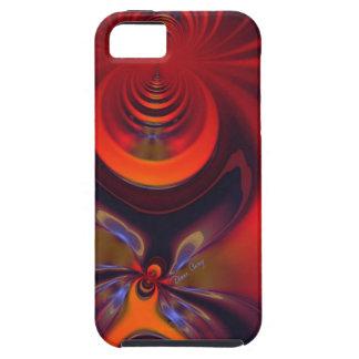 こはく色の女神-オレンジおよび金ゴールドの情熱 iPhone SE/5/5s ケース