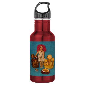 こはく色の妖精の国の人形 ウォーターボトル
