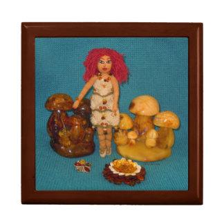 こはく色の妖精の国の人形 ギフトボックス