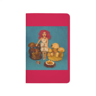 こはく色の妖精の国の人形 ポケットジャーナル