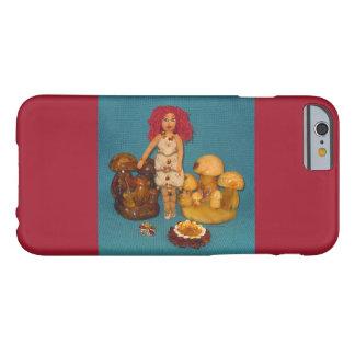 こはく色の妖精の国の人形 BARELY THERE iPhone 6 ケース