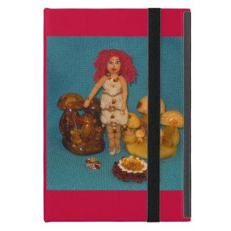 こはく色の妖精の国の人形 iPad MINI ケース