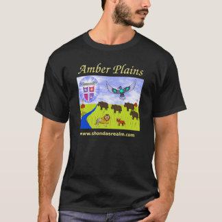 こはく色はTシャツの暗闇を嘆きます Tシャツ