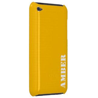 こはく色 Case-Mate iPod TOUCH ケース