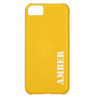 こはく色 iPhone5Cケース